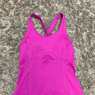 Primary Photo - BRAND: LULULEMON STYLE: ATHLETIC TANK TOP COLOR: MAGENTA SIZE: 6 SKU: 242-24213-127966