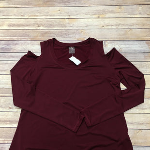 Primary Photo - BRAND: CALIA STYLE: ATHLETIC TOP COLOR: MAROON SIZE: XL SKU: 242-24264-37653