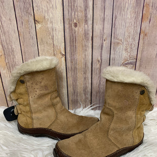 Primary Photo - BRAND: NORTHFACE STYLE: BOOTS ANKLE COLOR: CAMEL SIZE: 6 OTHER INFO: AS IS - SOME SCUFF MARKS ON THE FRONT AS SEEN IN PICTURE. SKU: 242-24287-1005