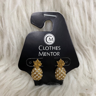 Primary Photo - BRAND: J CREW STYLE: EARRINGS COLOR: GOLD OTHER INFO: PINEAPPLE SKU: 242-24212-18668