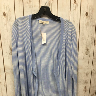 Primary Photo - BRAND: ANN TAYLOR LOFTSTYLE: SWEATER CARDIGAN LIGHTWEIGHTCOLOR: BLUE WHITESIZE: SSKU: 242-24213-103390