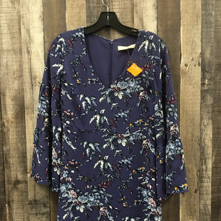 Primary Photo - BRAND: ANN TAYLOR LOFT STYLE: DRESS SHORT LONG SLEEVE COLOR: PURPLE SIZE: PETITE   XS SKU: 242-24213-122339