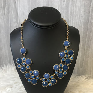 Primary Photo - BRAND:  CME STYLE: NECKLACE COLOR: BLUE OTHER INFO: BLUE AND GOLD - SKU: 242-24213-118434
