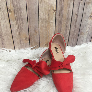 Primary Photo - BRAND:    CLOTHES MENTOR STYLE: SHOES FLATS COLOR: RED SIZE: 6.5 OTHER INFO: AMS - SKU: 242-24264-37492