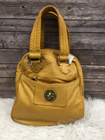 Primary Photo - BRAND: MARC JACOBS <BR>STYLE: HANDBAG DESIGNER <BR>COLOR: YELLOW <BR>SIZE: LARGE <BR>SKU: 242-24290-26171<BR>13 BY 14