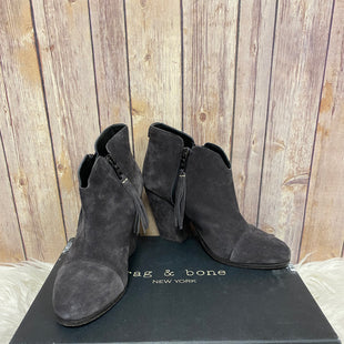 Primary Photo - BRAND: RAG AND BONE STYLE: BOOTS ANKLE COLOR: GREY SIZE: 8.5 SKU: 242-24264-40122