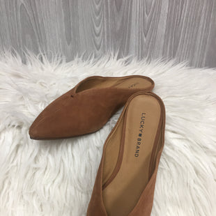Primary Photo - BRAND: LUCKY BRAND STYLE: SHOES FLATS COLOR: TAN SIZE: 8 SKU: 242-24264-43472