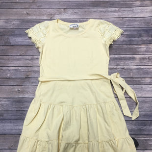 Primary Photo - BRAND: LAUREN CONRAD STYLE: DRESS SHORT SHORT SLEEVE COLOR: YELLOW SIZE: M SKU: 242-24213-115083