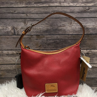 Primary Photo - BRAND: DOONEY AND BOURKE STYLE: HANDBAG DESIGNER COLOR: RED SIZE: MEDIUM SKU: 242-24213-11638510 BY 9DOES HAVE A CROSS BODY AND A PEN MARK