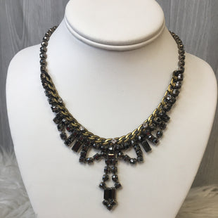 Primary Photo - BRAND: FOSSIL STYLE: NECKLACE COLOR: CHARCOAL SKU: 242-24235-16828