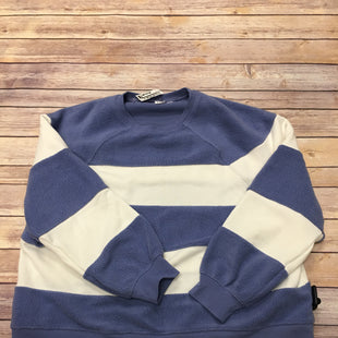 Primary Photo - BRAND: GAP STYLE: SWEATER LIGHTWEIGHT COLOR: BLUE WHITE SIZE: L SKU: 242-24264-36041
