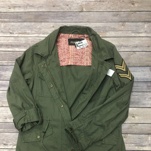 Primary Photo - BRAND: MADDEN GIRL STYLE: JACKET OUTDOOR COLOR: HUNTER GREEN SIZE: S SKU: 242-24256-674