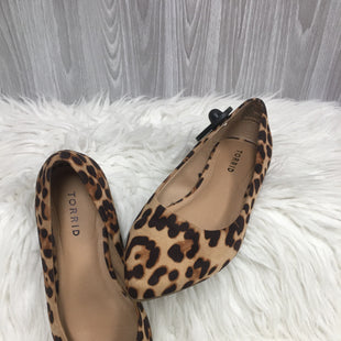 Primary Photo - BRAND: TORRID STYLE: SHOES FLATS COLOR: LEOPARD PRINT SIZE: 7 SKU: 242-24213-123544