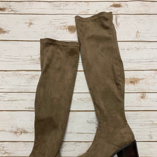 Primary Photo - BRAND: STEVE MADDEN STYLE: BOOTS KNEE COLOR: BEIGE SIZE: 8 SKU: 242-24235-14189