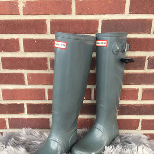 Primary Photo - BRAND: HUNTER STYLE: BOOTS RAIN COLOR: GREY SIZE: 8 SKU: 242-24287-2764