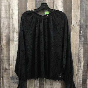 Primary Photo - BRAND: FREE PEOPLE STYLE: TOP LONG SLEEVE COLOR: BLACK SIZE: L SKU: 242-24287-3367