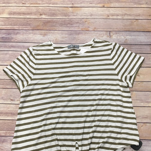 Primary Photo - BRAND: MARLED STYLE: TOP SHORT SLEEVE COLOR: STRIPED SIZE: XL SKU: 242-242102-1671