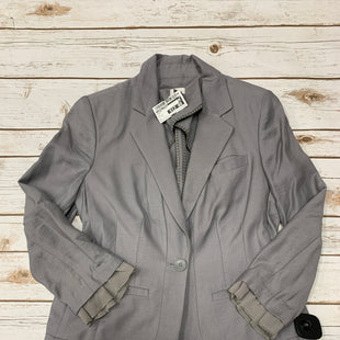 Primary Photo - BRAND: LAUREN CONRAD STYLE: BLAZER JACKET COLOR: GREY SIZE: 2 SKU: 242-24235-17344