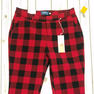 Primary Photo - BRAND: OLD NAVY STYLE: PANTS COLOR: RED BLACK SIZE: 10 SKU: 242-24213-104673