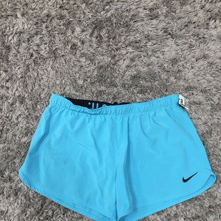 Primary Photo - BRAND: NIKE APPAREL STYLE: ATHLETIC SHORTS COLOR: AQUA SIZE: L SKU: 242-24213-127730