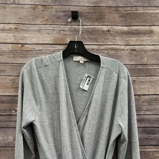 Primary Photo - BRAND: ANN TAYLOR LOFT STYLE: TOP LONG SLEEVE COLOR: GREY SIZE: L SKU: 242-24213-113925