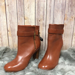 Primary Photo - BRAND: TED BAKER STYLE: BOOTS ANKLE COLOR: CAMEL SIZE: 9 SKU: 242-242103-322