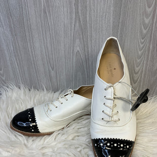 Primary Photo - BRAND: KATE SPADE STYLE: SHOES FLATS COLOR: BLACK WHITE SIZE: 10 OTHER INFO: AS IS SKU: 242-24264-45395