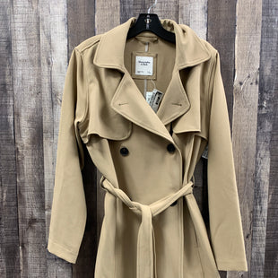 Primary Photo - BRAND: ABERCROMBIE AND FITCH STYLE: COAT LONG COLOR: TAN SIZE: L SKU: 242-242102-2487