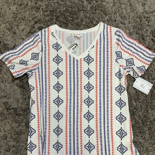Primary Photo - BRAND: LULAROE STYLE: TOP SHORT SLEEVE COLOR: MULTI SIZE: L SKU: 242-24264-45869