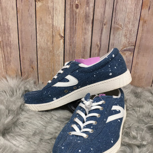 Primary Photo - BRAND: ANTHROPOLOGIE STYLE: SHOES ATHLETIC COLOR: DENIM SIZE: 9 SKU: 242-24268-10869