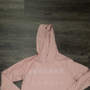 Primary Photo - BRAND: UNDER ARMOUR STYLE: ATHLETIC TOP COLOR: PINK SIZE: L SKU: 242-24290-25474
