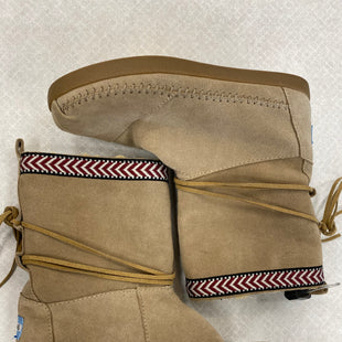 Primary Photo - BRAND: TOMS STYLE: BOOTS ANKLE COLOR: TAN SIZE: 7.5 SKU: 242-24213-115768