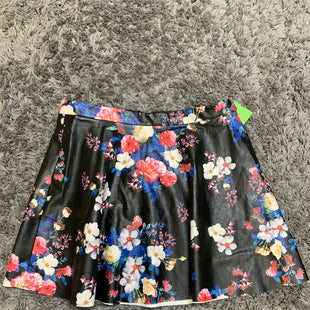 Primary Photo - BRAND: EXPRESS STYLE: SKIRT COLOR: FLORAL SIZE: 14 SKU: 242-24213-128209FAUX LEATHER