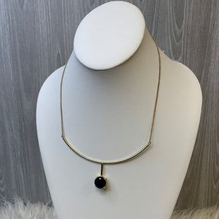 Primary Photo - BRAND:    CLOTHES MENTOR STYLE: NECKLACE COLOR: GOLD OTHER INFO: DARK BLUE DIAMOND SKU: 242-24235-19045