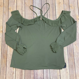 Primary Photo - BRAND: WHITE HOUSE BLACK MARKET STYLE: TOP LONG SLEEVE COLOR: OLIVE SIZE: XS SKU: 242-24287-1163
