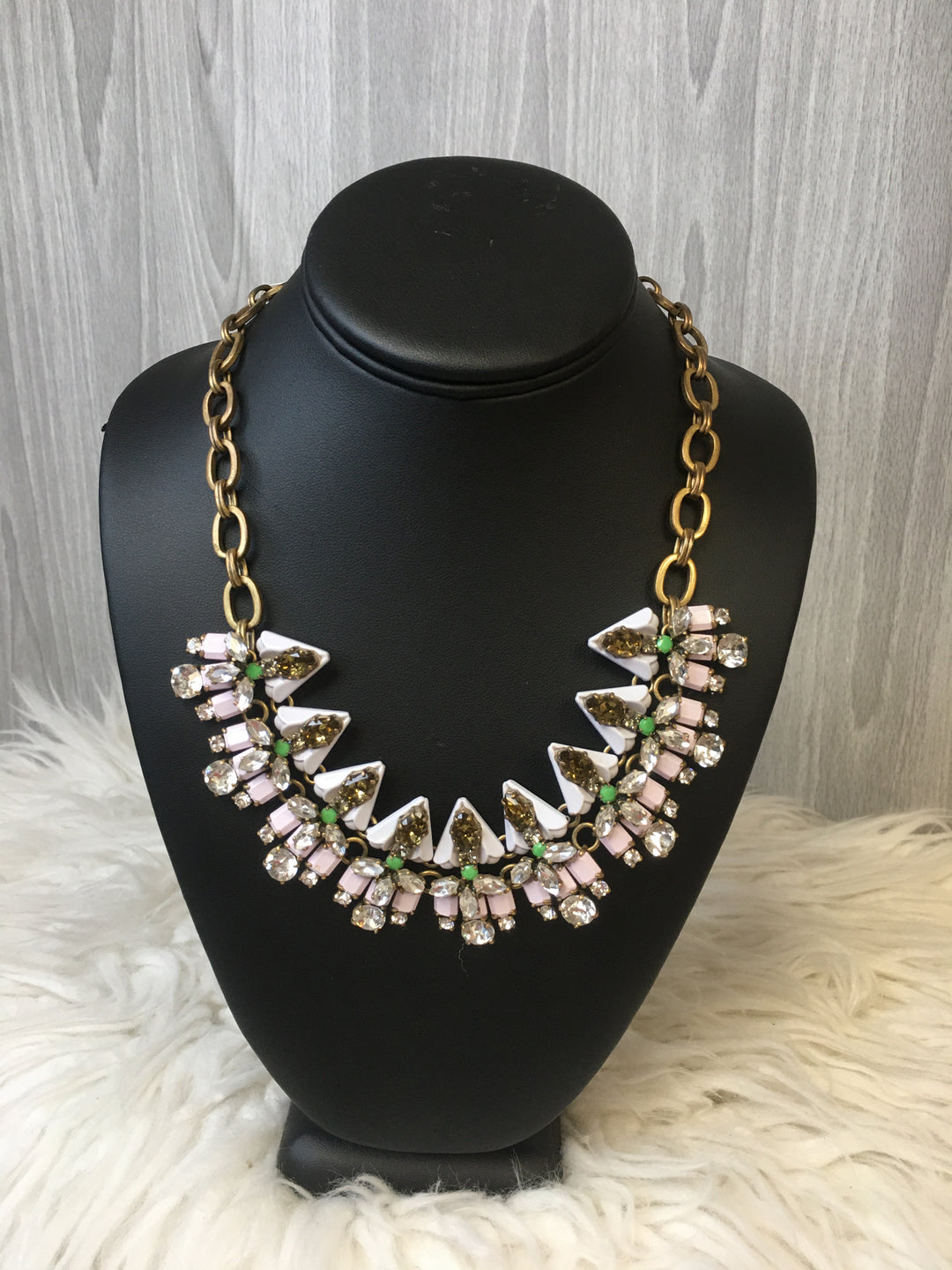 Primary Photo - BRAND: J CREW <BR>STYLE: NECKLACE <BR>COLOR: PINKGREEN <BR>SKU: 242-24213-125481
