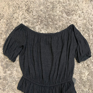 Primary Photo - BRAND: FREE PEOPLE STYLE: TOP SHORT SLEEVE COLOR: BLACK SIZE: S SKU: 242-24213-127945