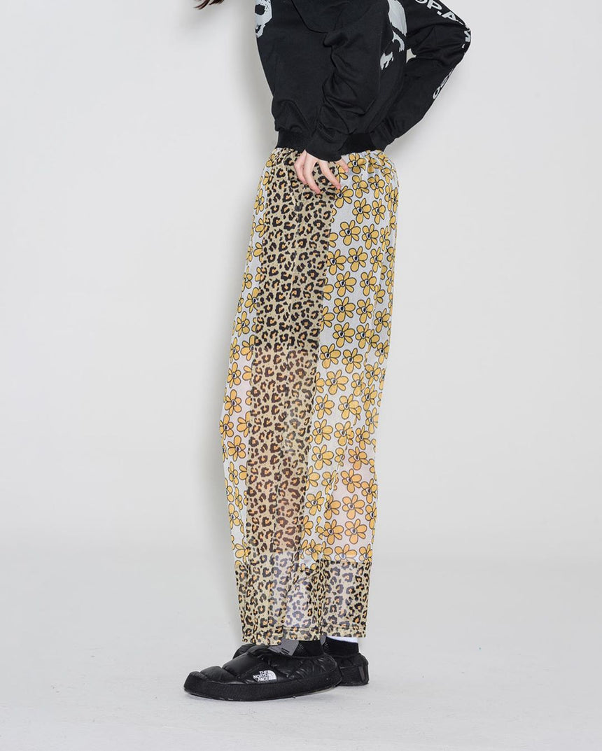 Kissing Frogs Mesh Pants