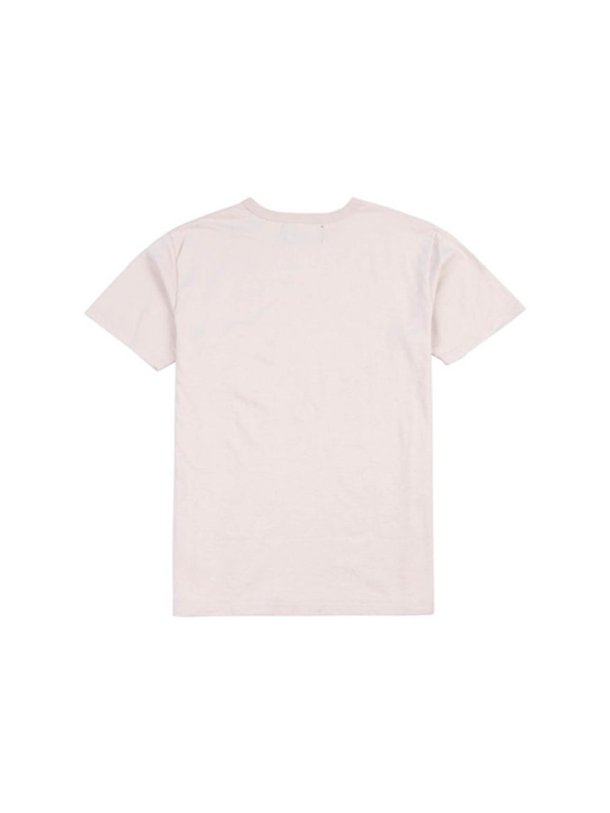 Angel Eyes Tee in Beige