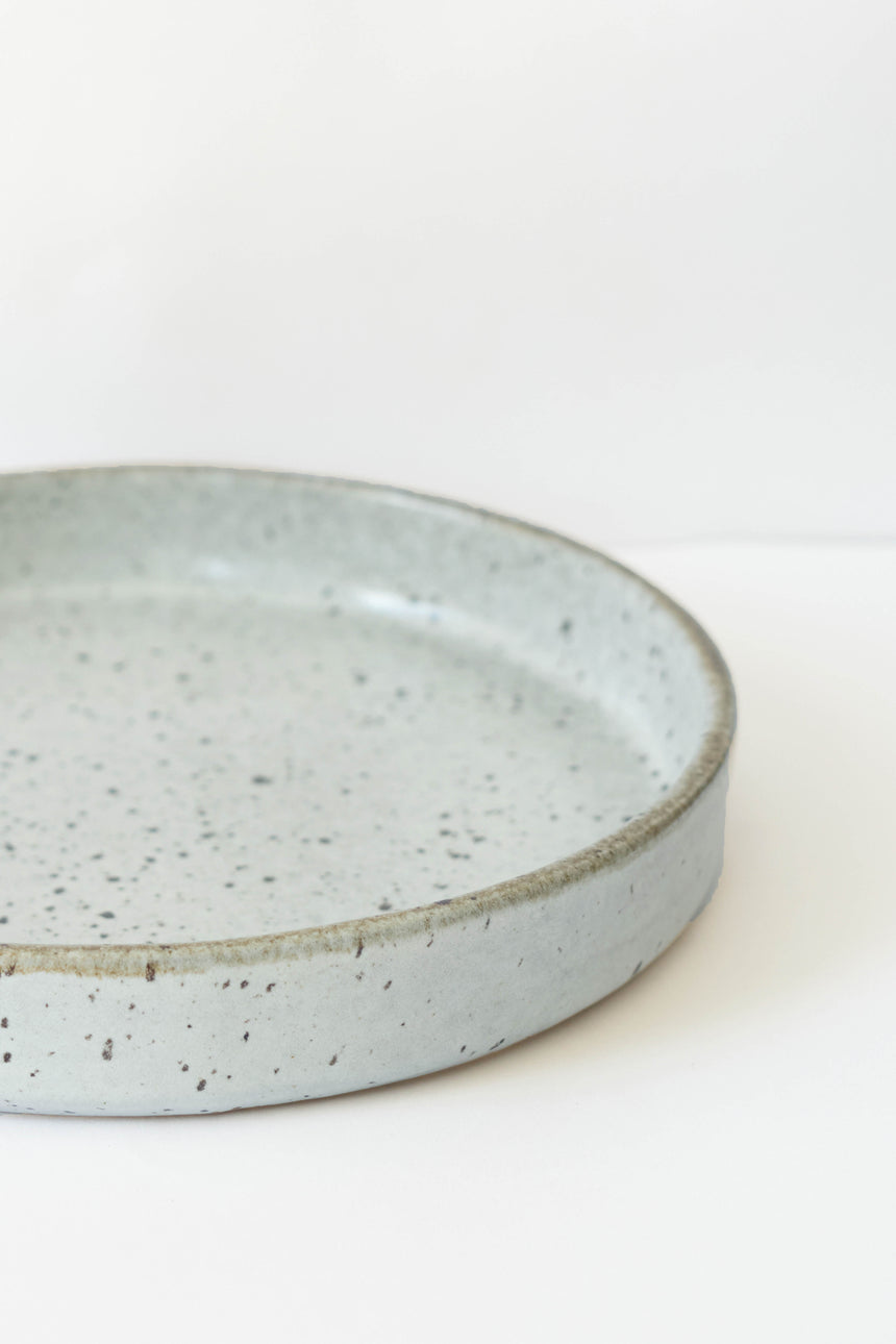 Yogi Breakfast Plate in Dusty Blue