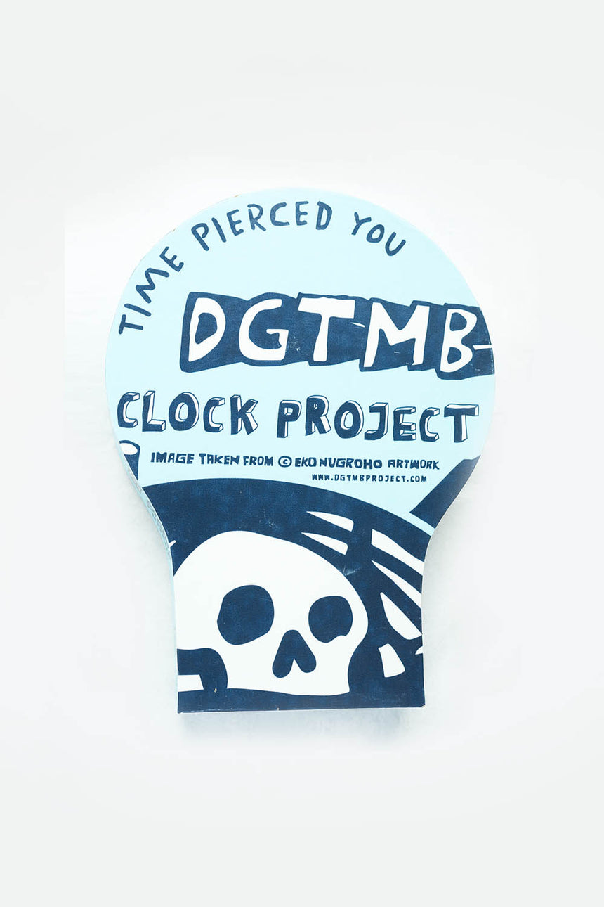 'Time Pierced You' Clock