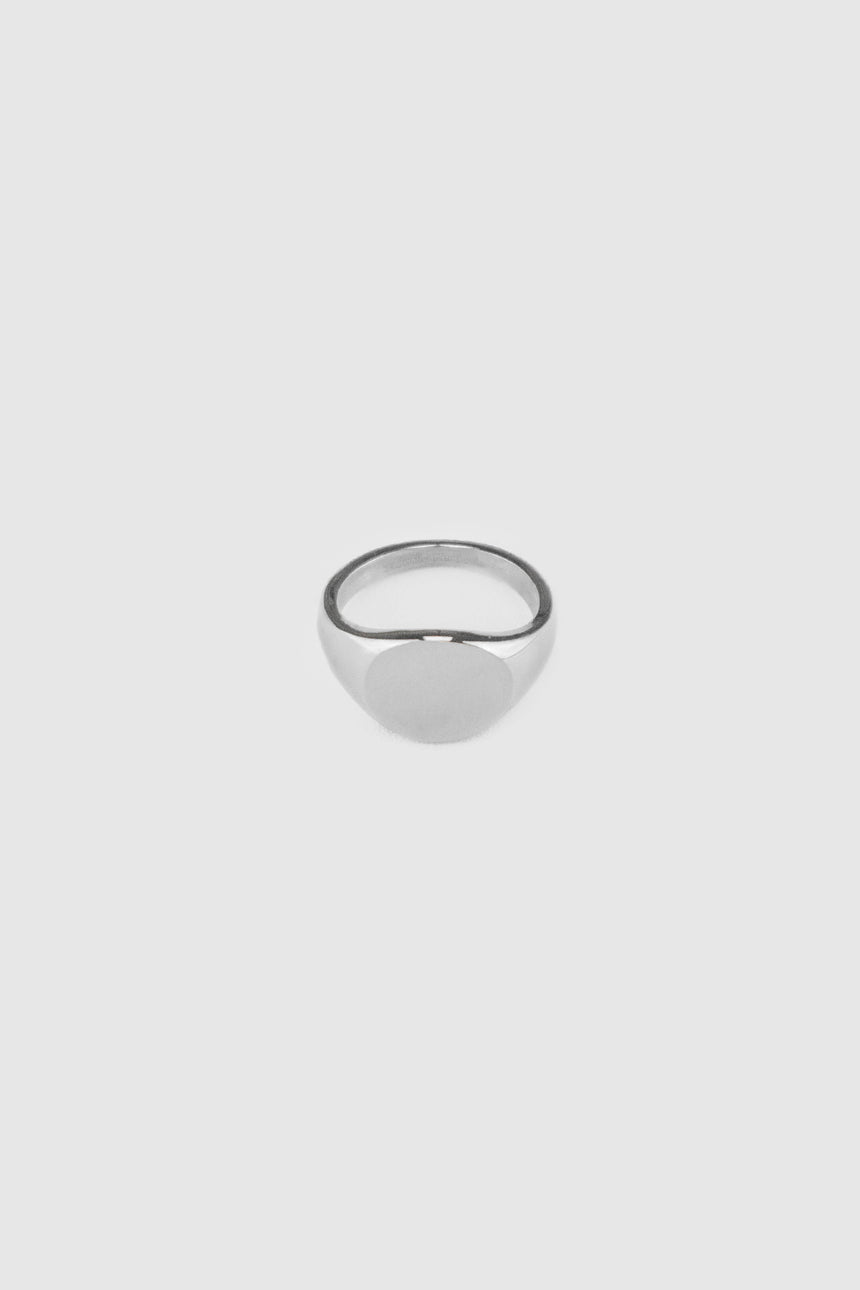 Moss Signet Ring in Silver