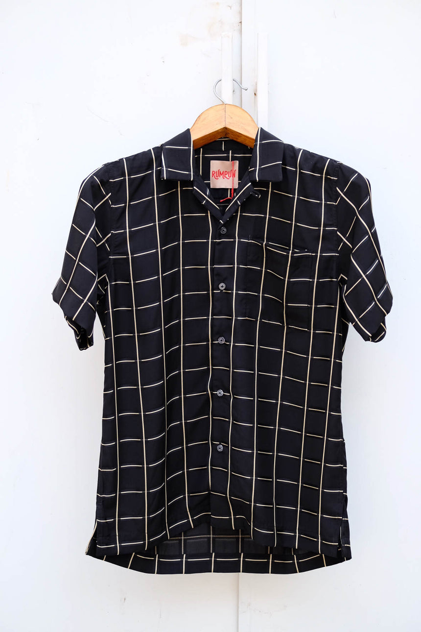 Teddy Lounge Shirt in Black