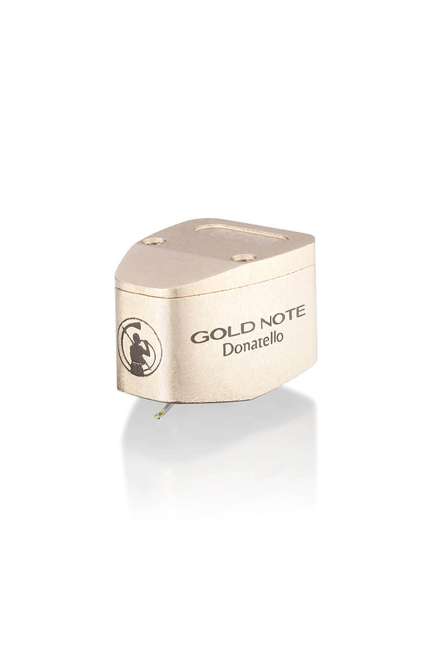 Gold Note Donatello Phono Cartridge in Gold