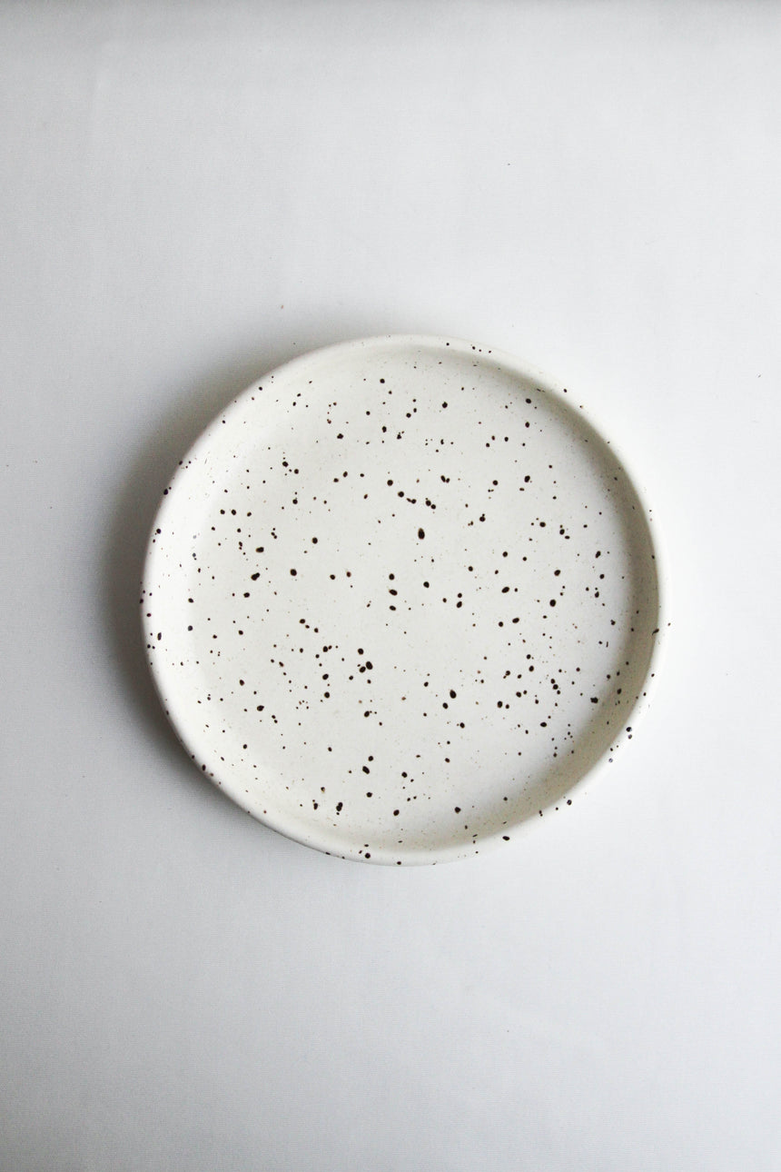 Putu Bread & Butter Plate in Cloudy White