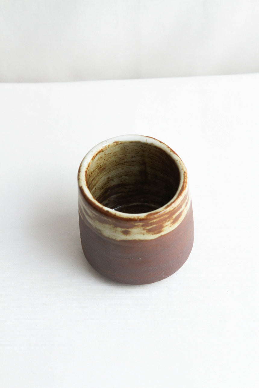 Hakeme Cup in Dark Brown