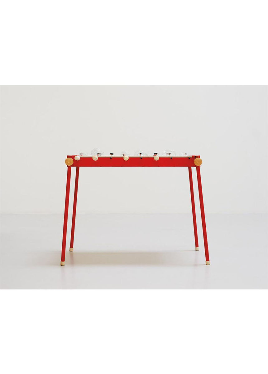 Red Fussball Table, 2018