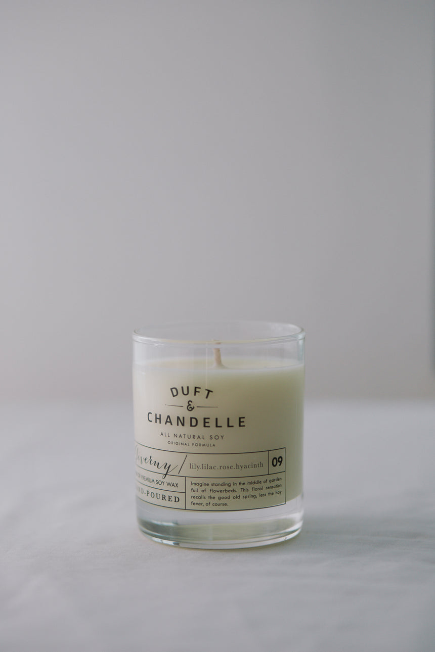 Natural Candle in Giverny