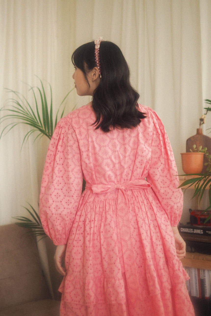 Maisie Dress in Pink