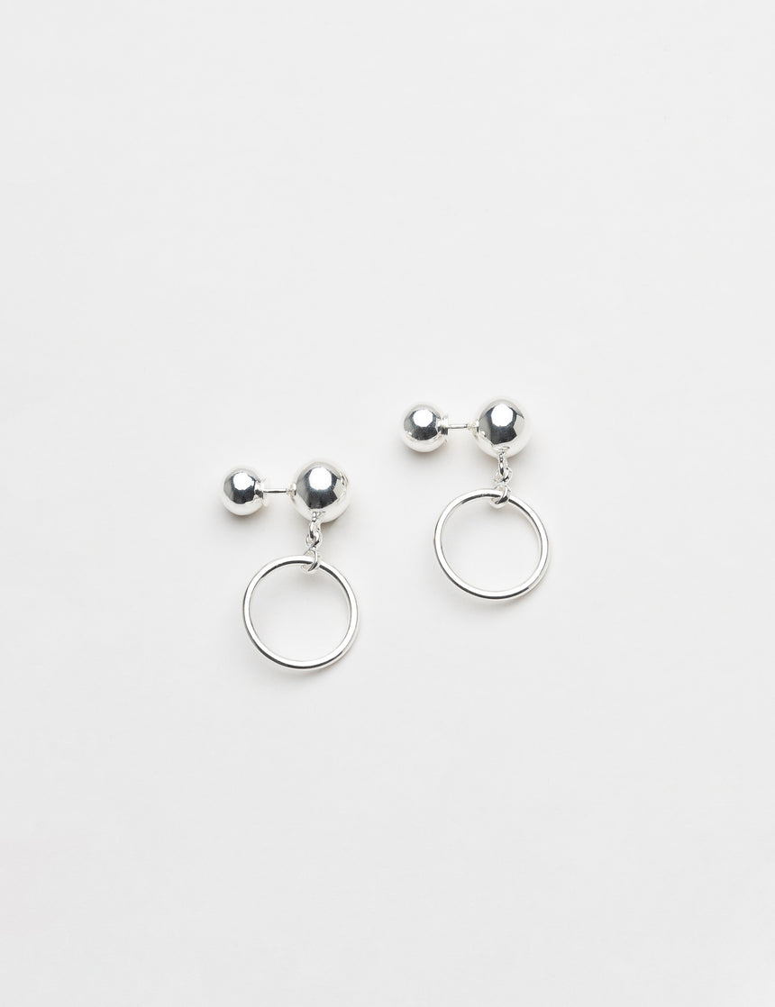 Planet Moon Earrings